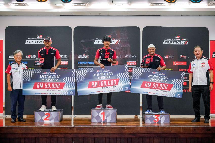 Toyota Gazoo Racing Season 3 – RM360k in prizes presented to Sporting, Super Sporting class winners Image #1138613