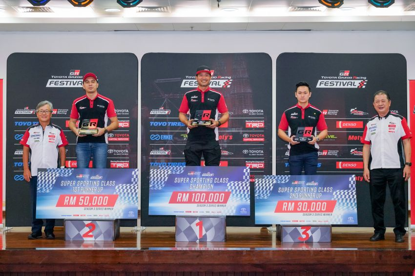 Toyota Gazoo Racing Season 3 – RM360k in prizes presented to Sporting, Super Sporting class winners Image #1138603