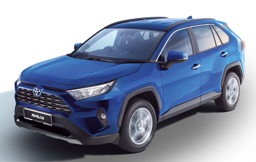 2020 Toyota RAV4 SUV launched in Malaysia – CBU Japan, 2.0L CVT RM196,500, 2.5L 8AT RM215,700 Image #1132642