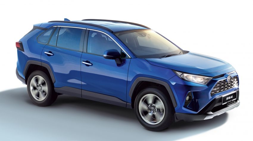 2020 Toyota RAV4 SUV launched in Malaysia – CBU Japan, 2.0L CVT RM196,500, 2.5L 8AT RM215,700 Image #1132643