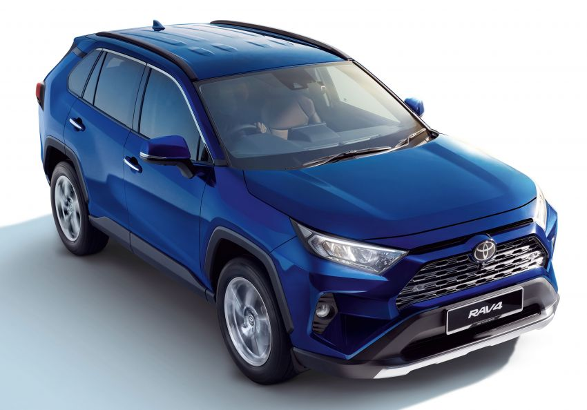 2020 Toyota RAV4 SUV launched in Malaysia – CBU Japan, 2.0L CVT RM196,500, 2.5L 8AT RM215,700 Image #1132647