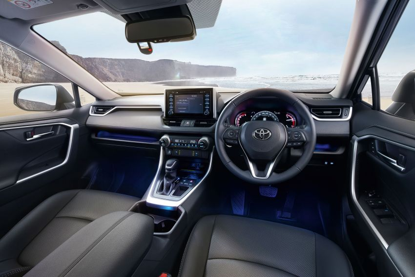 2020 Toyota RAV4 SUV launched in Malaysia – CBU Japan, 2.0L CVT RM196,500, 2.5L 8AT RM215,700 Image #1132648