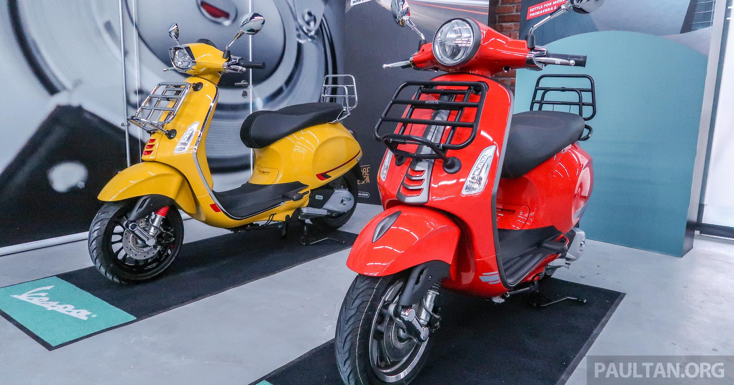 Vespa Sprint S 150 Primavera S 150 Special Edition Dilancar Untuk M Sia Harga Rm16 900 Dan Rm18 300 Paultan Org