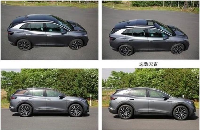 Volkswagen ID 4 leaked in Chinese gov't filing – report Image #1132236