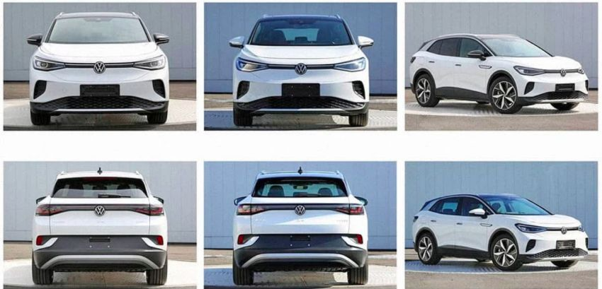 Volkswagen ID 4 leaked in Chinese gov't filing – report Image #1132240