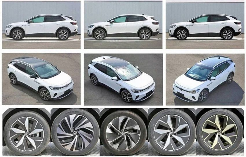 Volkswagen ID 4 leaked in Chinese gov't filing – report Image #1132241
