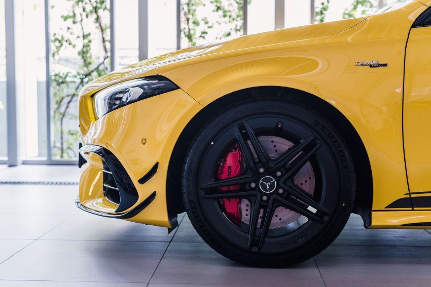 Mercedes-AMG A45S 4Matic+ W177 kini di Malaysia – enjin 2.0 liter baru, 421 PS/500 Nm, dari RM459,888 Image #1124115