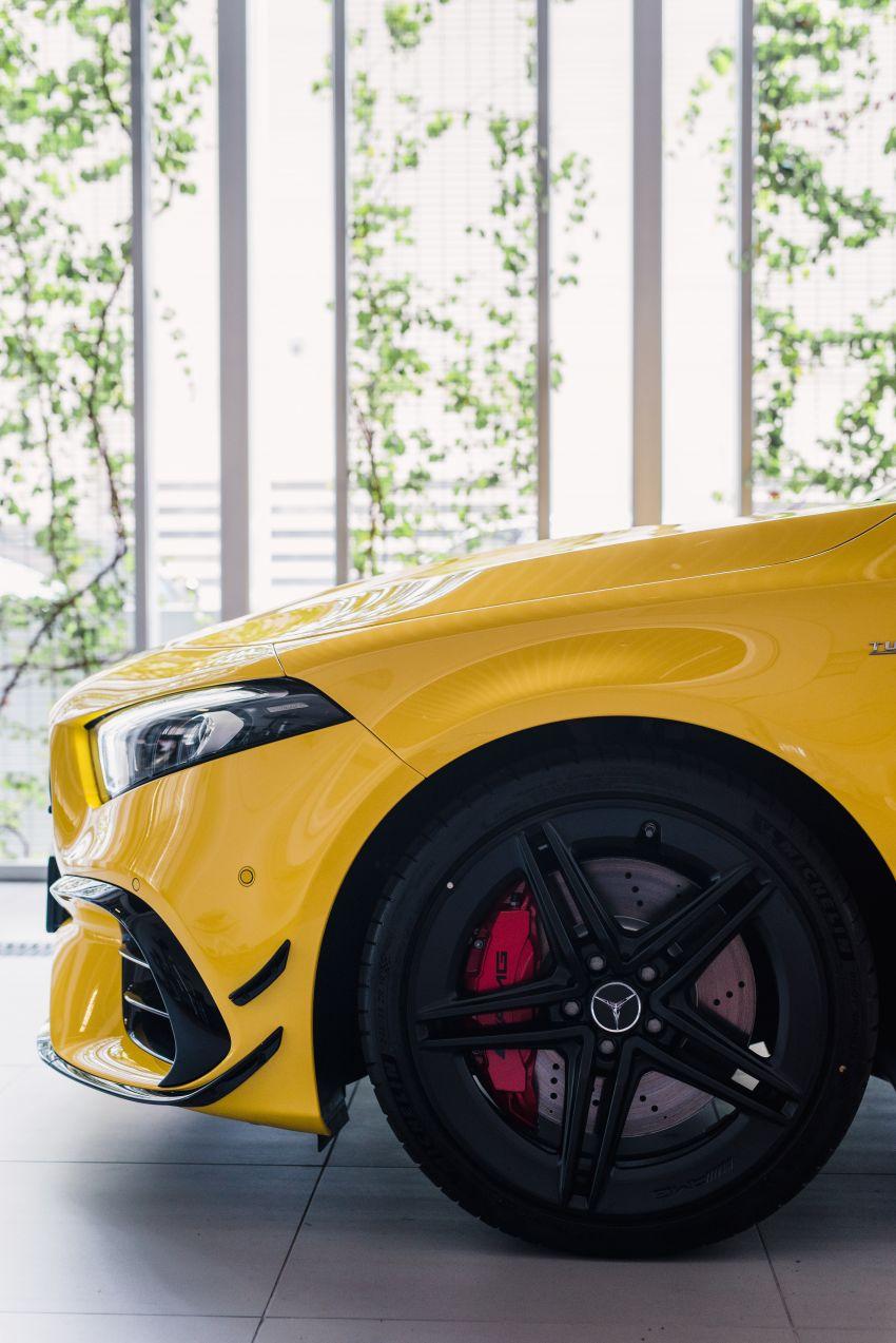 Mercedes-AMG A45S 4Matic+ W177 kini di Malaysia – enjin 2.0 liter baru, 421 PS/500 Nm, dari RM459,888 Image #1124117