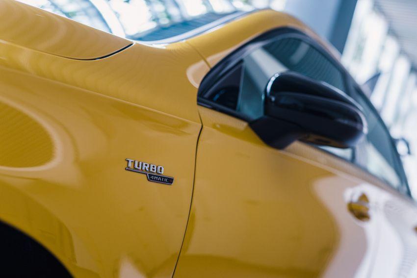 Mercedes-AMG A45S 4Matic+ W177 kini di Malaysia – enjin 2.0 liter baru, 421 PS/500 Nm, dari RM459,888 Image #1124119