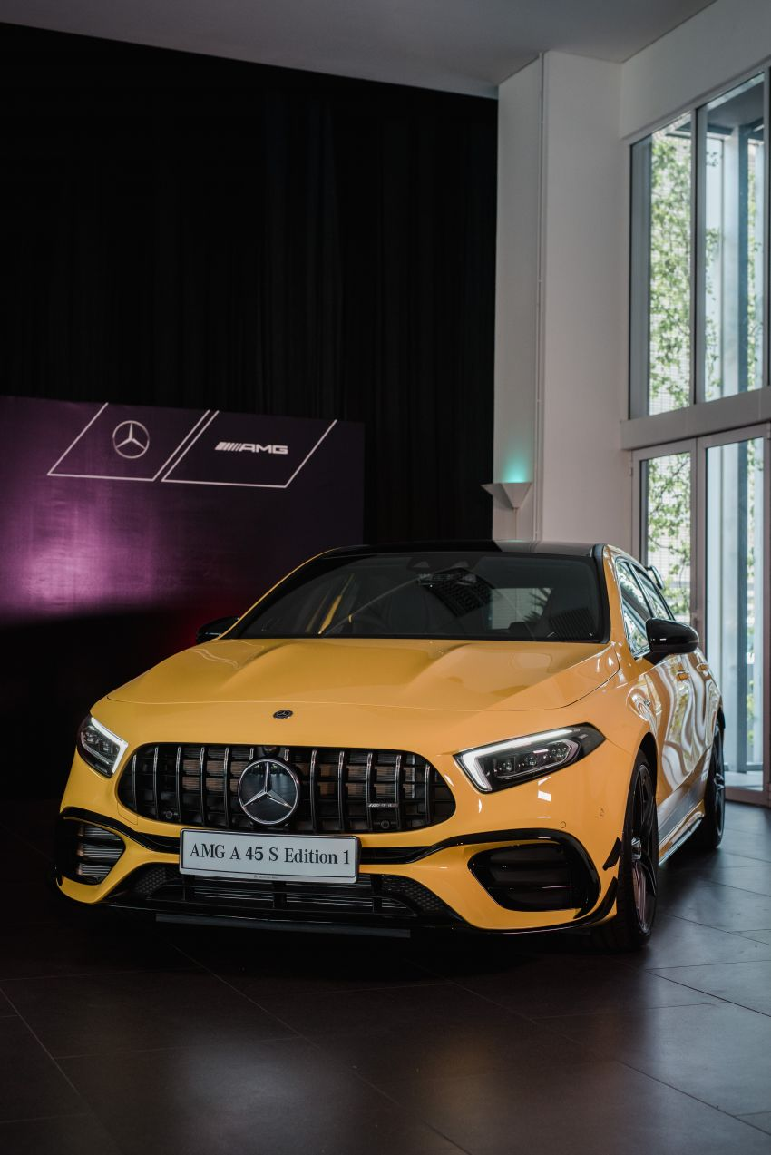 Mercedes-AMG A45S 4Matic+ W177 kini di Malaysia – enjin 2.0 liter baru, 421 PS/500 Nm, dari RM459,888 Image #1124143