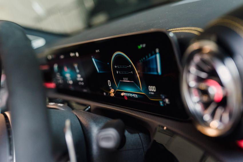 Mercedes-AMG A45S 4Matic+ W177 kini di Malaysia – enjin 2.0 liter baru, 421 PS/500 Nm, dari RM459,888 Image #1124151