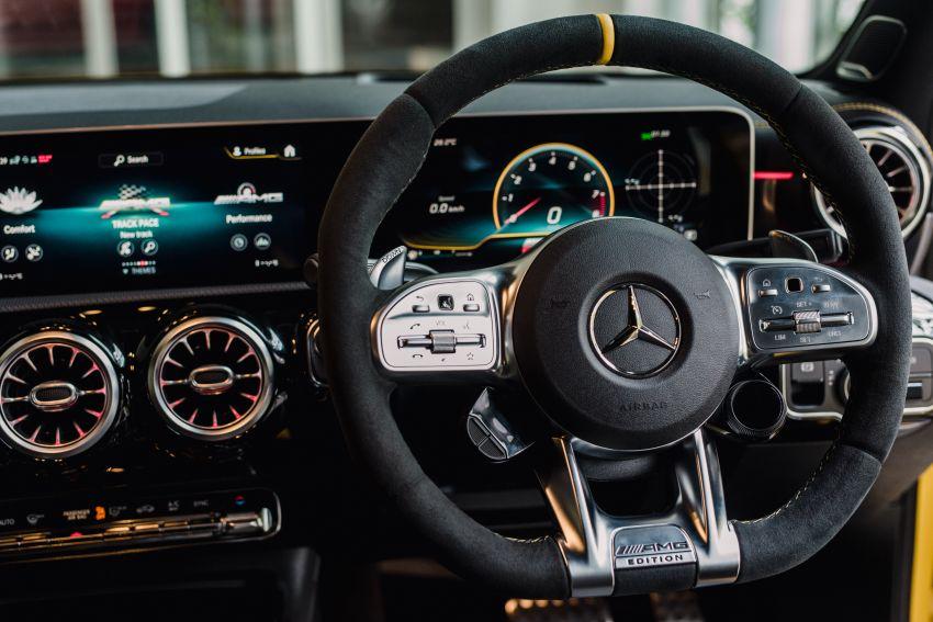 Mercedes-AMG A45S 4Matic+ W177 kini di Malaysia – enjin 2.0 liter baru, 421 PS/500 Nm, dari RM459,888 Image #1124215