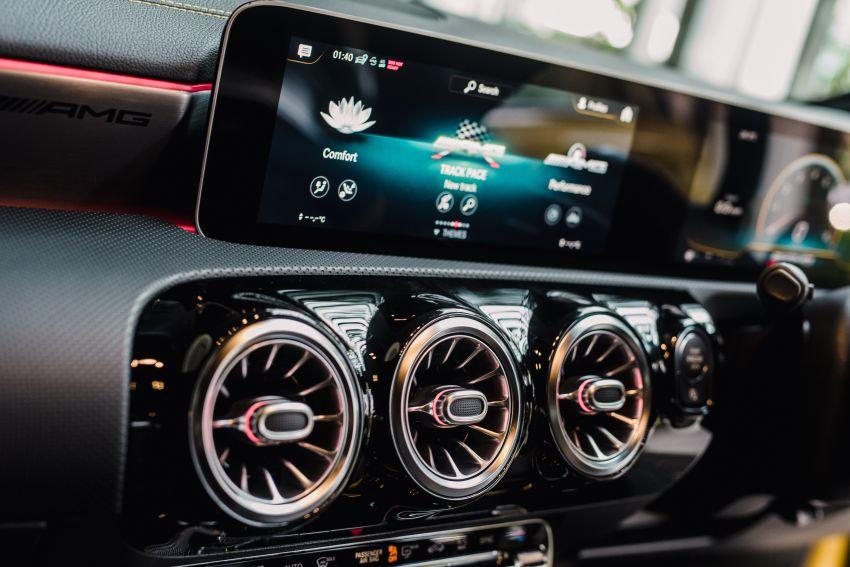 Mercedes-AMG A45S 4Matic+ W177 kini di Malaysia – enjin 2.0 liter baru, 421 PS/500 Nm, dari RM459,888 Image #1124181