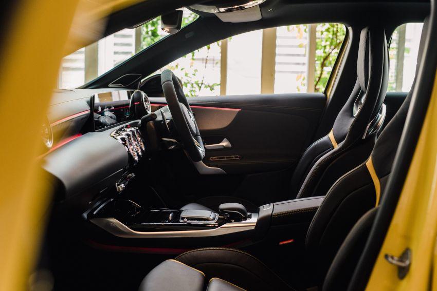 Mercedes-AMG A45S 4Matic+ W177 kini di Malaysia – enjin 2.0 liter baru, 421 PS/500 Nm, dari RM459,888 Image #1124191