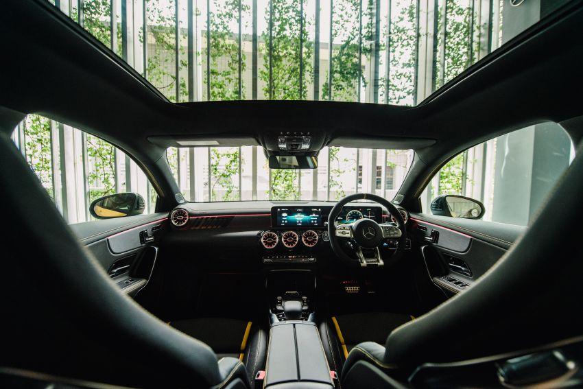 Mercedes-AMG A45S 4Matic+ W177 kini di Malaysia – enjin 2.0 liter baru, 421 PS/500 Nm, dari RM459,888 Image #1124194