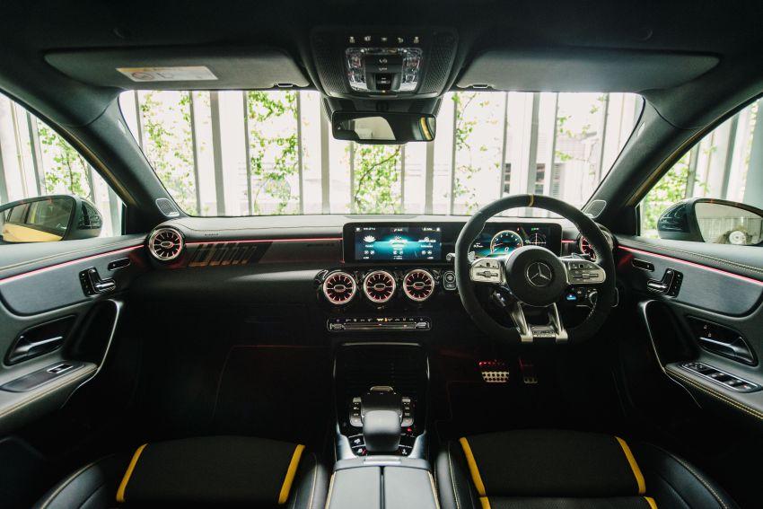 Mercedes-AMG A45S 4Matic+ W177 kini di Malaysia – enjin 2.0 liter baru, 421 PS/500 Nm, dari RM459,888 Image #1124200