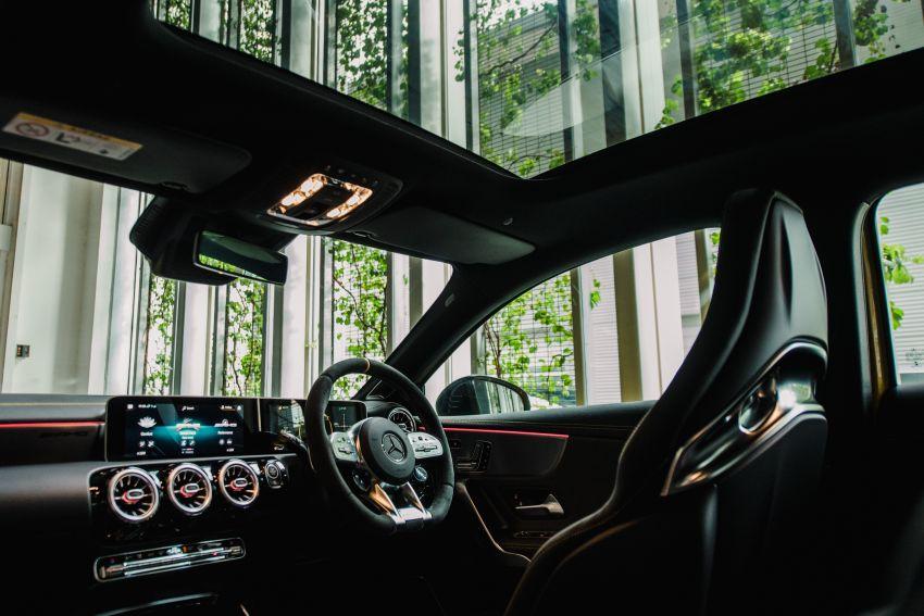 Mercedes-AMG A45S 4Matic+ W177 kini di Malaysia – enjin 2.0 liter baru, 421 PS/500 Nm, dari RM459,888 Image #1124205