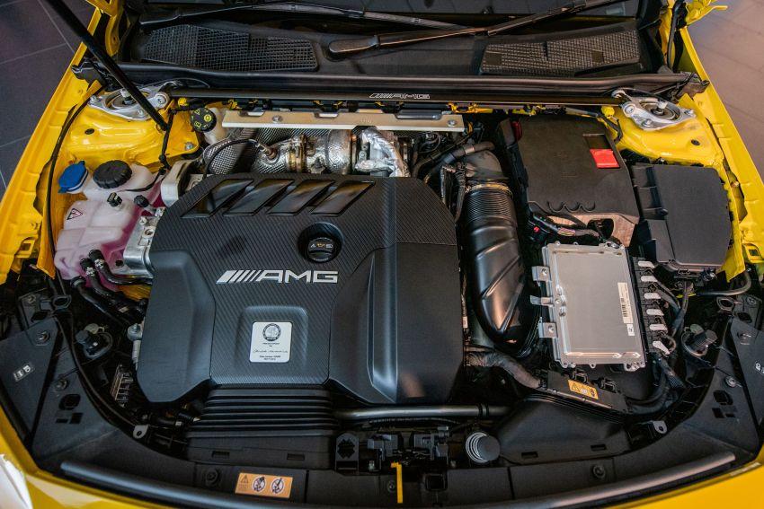 Mercedes-AMG A45S 4Matic+ W177 kini di Malaysia – enjin 2.0 liter baru, 421 PS/500 Nm, dari RM459,888 Image #1124208