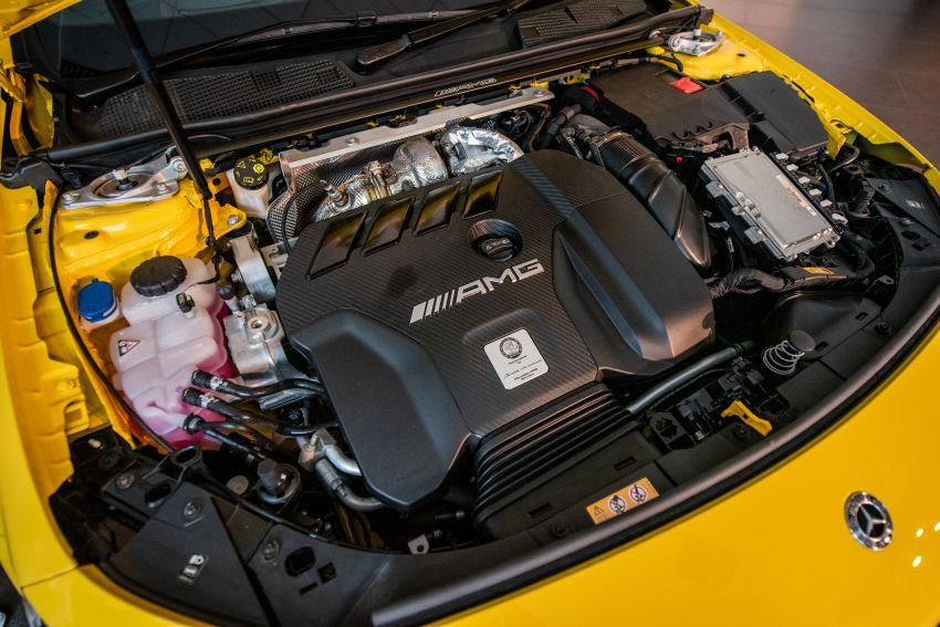 Mercedes-AMG A45S 4Matic+ W177 kini di Malaysia – enjin 2.0 liter baru, 421 PS/500 Nm, dari RM459,888 Image #1124212
