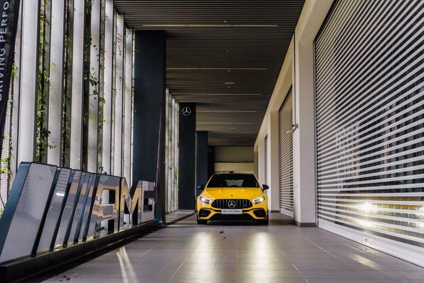 Mercedes-AMG A45S 4Matic+ W177 kini di Malaysia – enjin 2.0 liter baru, 421 PS/500 Nm, dari RM459,888 Image #1124103