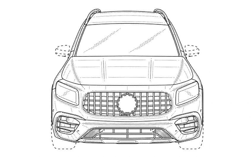 X247 Mercedes-AMG GLB45 hinted in new patent Image #1129627
