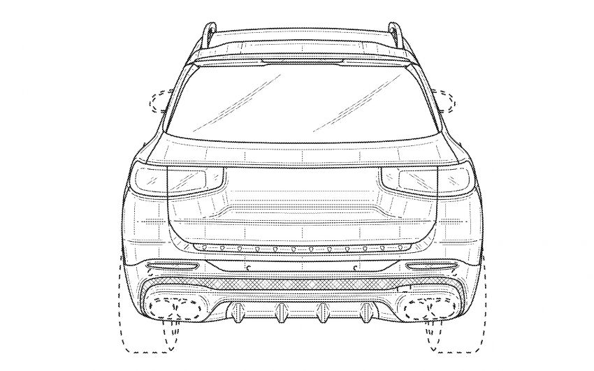 X247 Mercedes-AMG GLB45 hinted in new patent Image #1129628