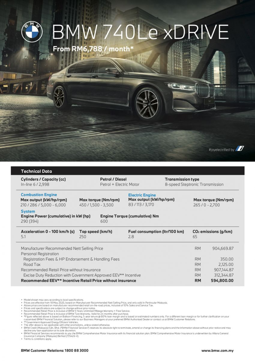 G12 BMW 740Le LCI now with Park Assistant Plus, Surround View Camera – price unchanged at RM595k Image #1126193