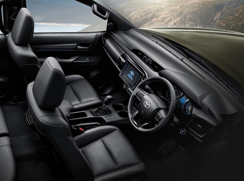 Toyota Hilux facelift didedahkan – rupa lebih garang, model 2.8L turbodiesel terima kuasa 204 hp/500 Nm Image #1126547