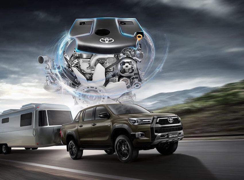 Toyota Hilux facelift didedahkan – rupa lebih garang, model 2.8L turbodiesel terima kuasa 204 hp/500 Nm Image #1126539