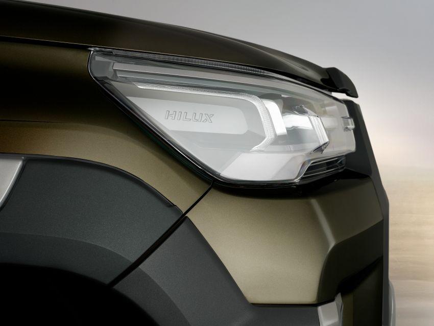 Toyota Hilux facelift didedahkan – rupa lebih garang, model 2.8L turbodiesel terima kuasa 204 hp/500 Nm Image #1126359
