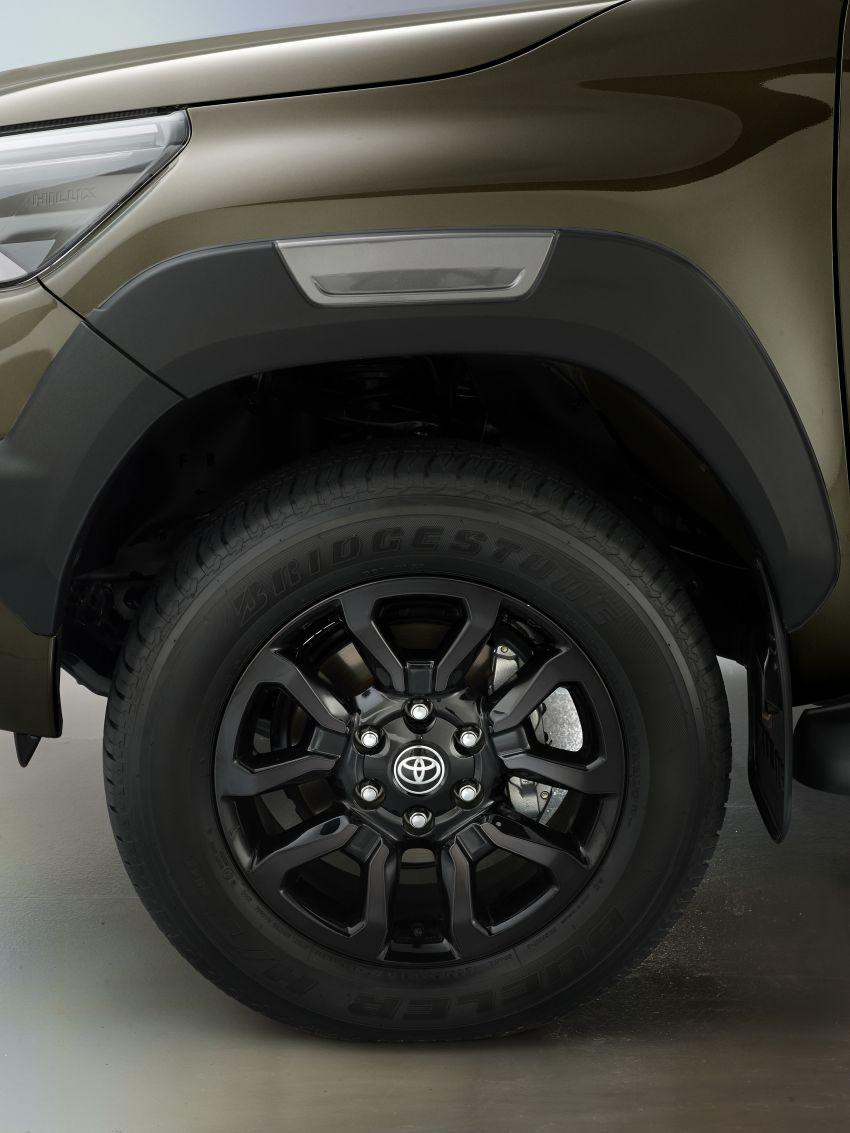 Toyota Hilux facelift didedahkan – rupa lebih garang, model 2.8L turbodiesel terima kuasa 204 hp/500 Nm Image #1126353