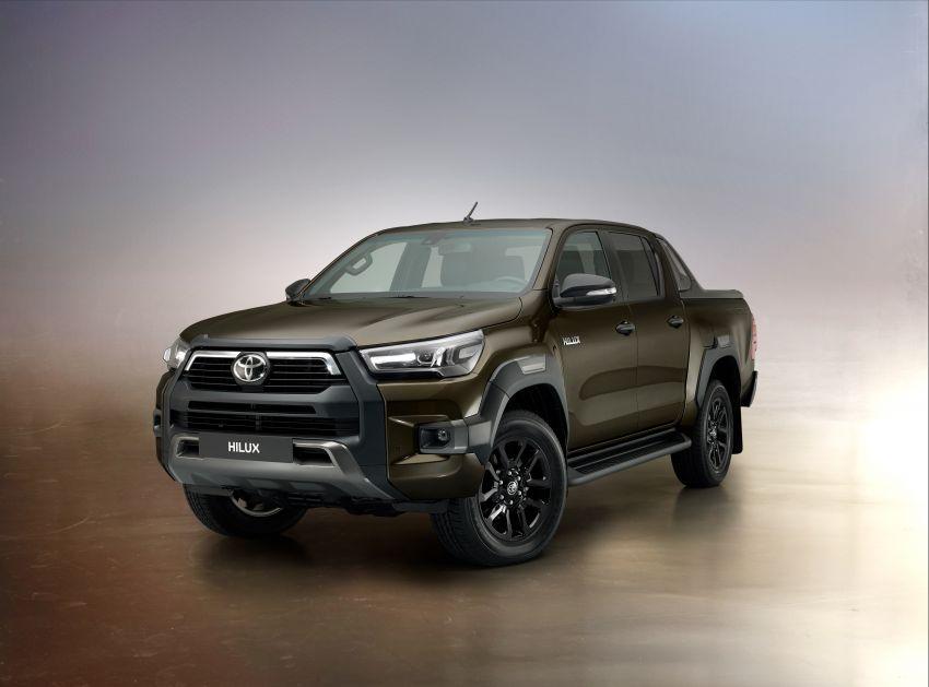 Toyota Hilux facelift didedahkan – rupa lebih garang, model 2.8L turbodiesel terima kuasa 204 hp/500 Nm Image #1126376