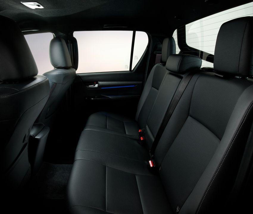 Toyota Hilux facelift didedahkan – rupa lebih garang, model 2.8L turbodiesel terima kuasa 204 hp/500 Nm Image #1126370
