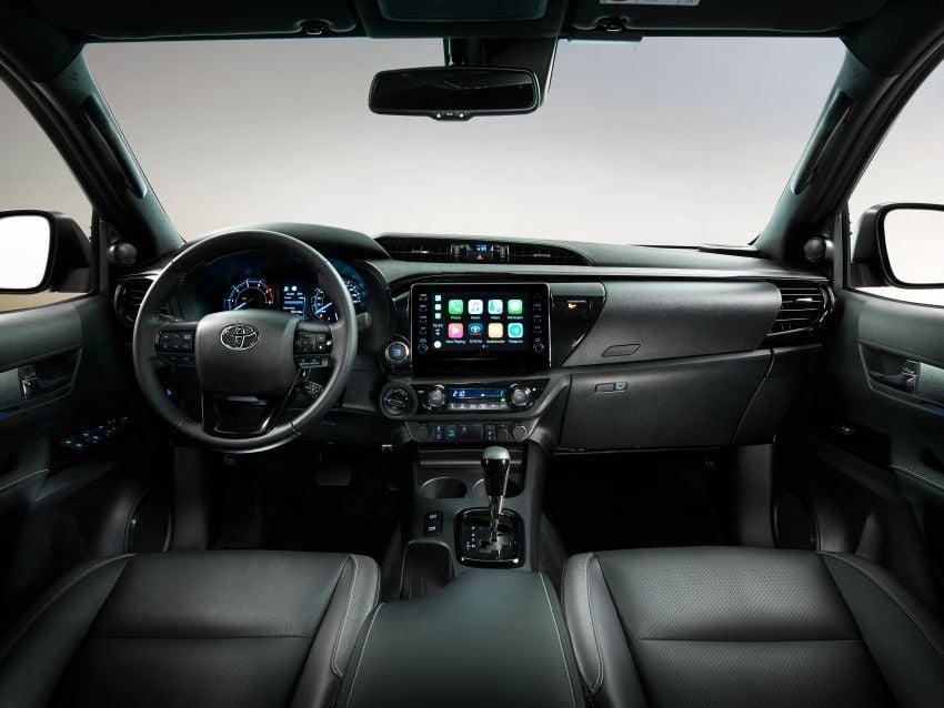Toyota Hilux facelift didedahkan – rupa lebih garang, model 2.8L turbodiesel terima kuasa 204 hp/500 Nm Image #1126372