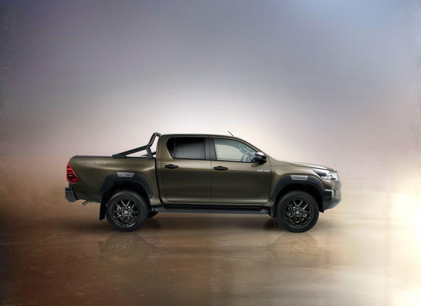 Toyota Hilux facelift didedahkan – rupa lebih garang, model 2.8L turbodiesel terima kuasa 204 hp/500 Nm Image #1126379