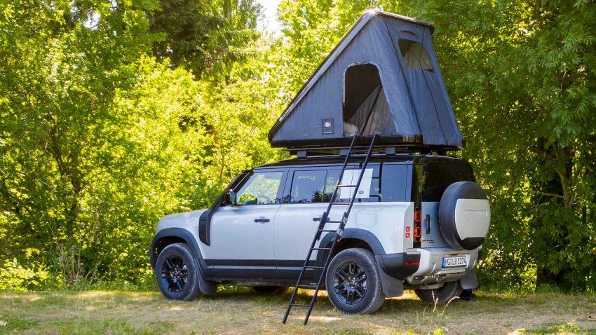 Land Rover Defender 110 2020 kini ditawarkan dengan opsyen khemah bumbung, dihasilkan oleh Autohome Image #1134989
