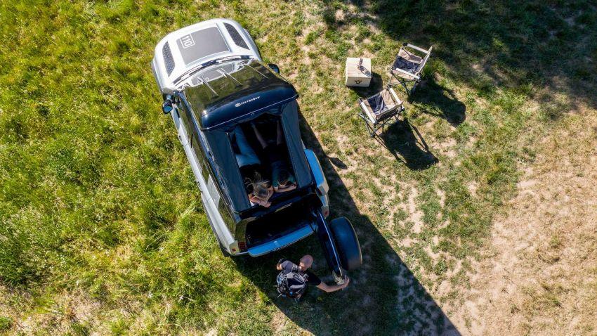Land Rover Defender 110 2020 kini ditawarkan dengan opsyen khemah bumbung, dihasilkan oleh Autohome Image #1134985