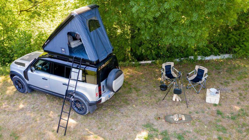 Land Rover Defender 110 2020 kini ditawarkan dengan opsyen khemah bumbung, dihasilkan oleh Autohome Image #1134983