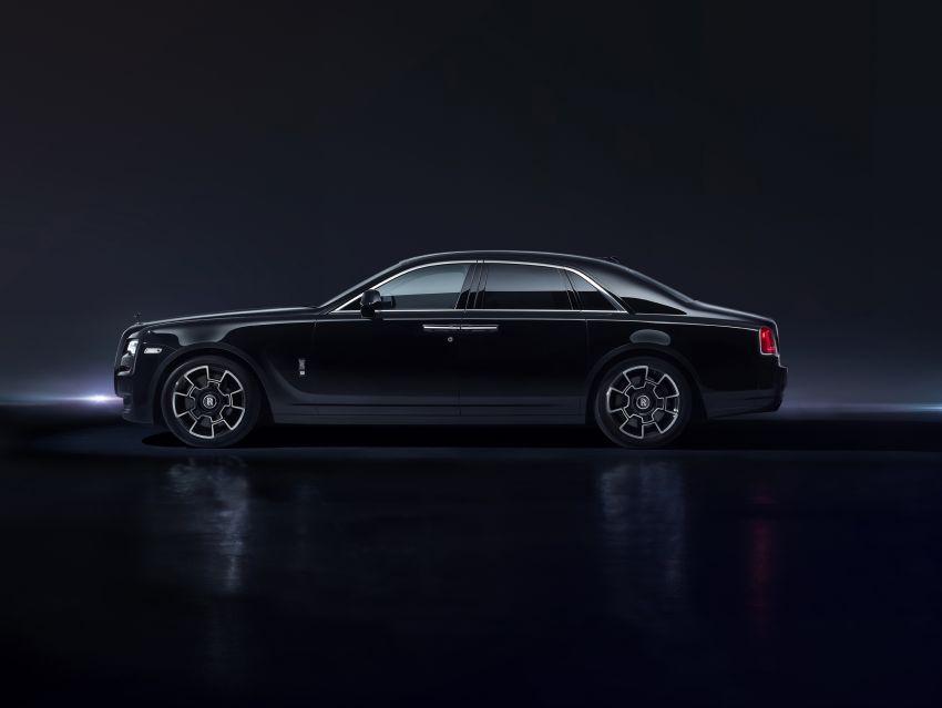 Rolls-Royce Black Badge tiba di M'sia – pakej tingkat taraf lebih sporty untuk Ghost, Wraith, Dawn, Cullinan Image #1138663
