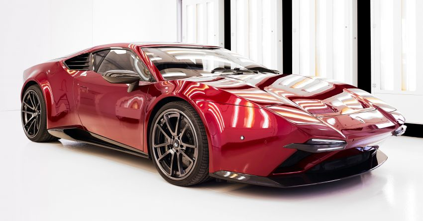 2020 Ares Design Panther ProgettoUno – Huracan-based supercar with modern V10 power, retro looks Image #1144922