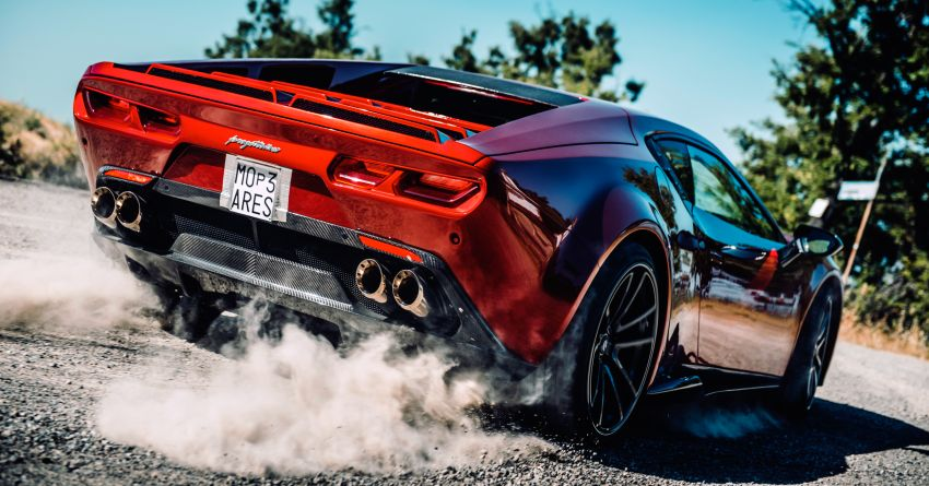 2020 Ares Design Panther ProgettoUno – Huracan-based supercar with modern V10 power, retro looks Image #1144951