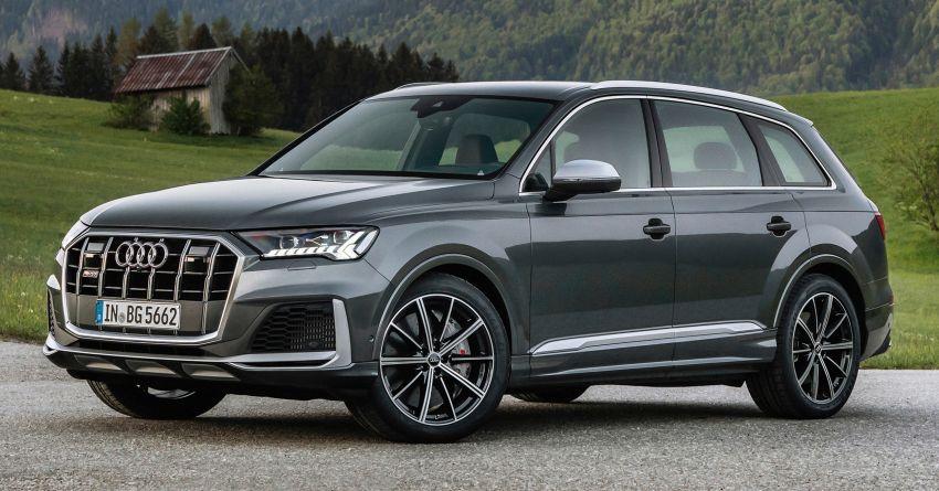 2021 Audi SQ7, SQ8 get 507 PS, 770 Nm V8 TFSI mill Image #1147586