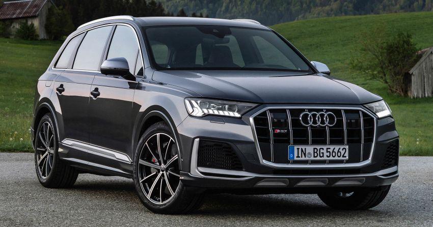 2021 Audi SQ7, SQ8 get 507 PS, 770 Nm V8 TFSI mill Image #1147587