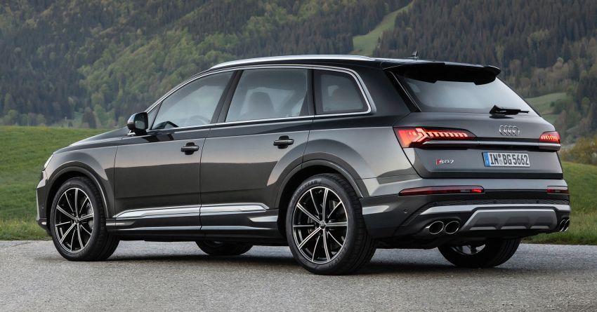 2021 Audi SQ7, SQ8 get 507 PS, 770 Nm V8 TFSI mill Image #1147589