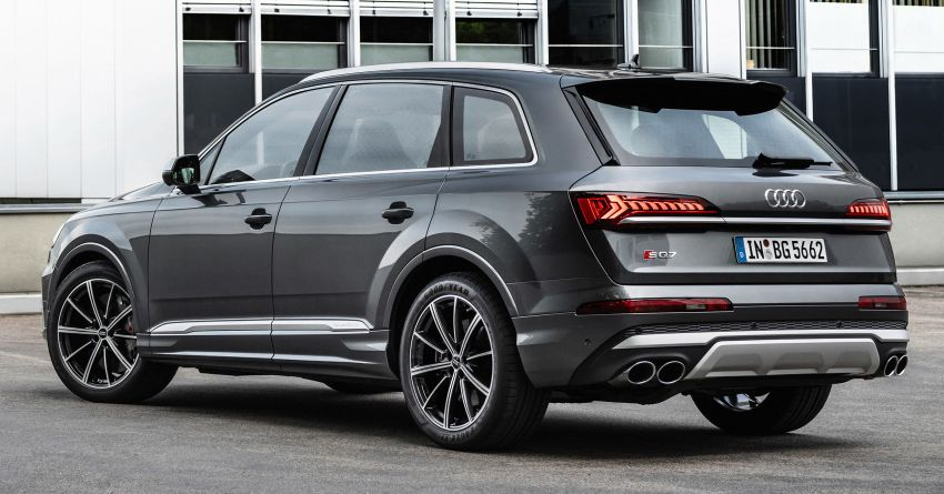 2021 Audi SQ7, SQ8 get 507 PS, 770 Nm V8 TFSI mill Image #1147607