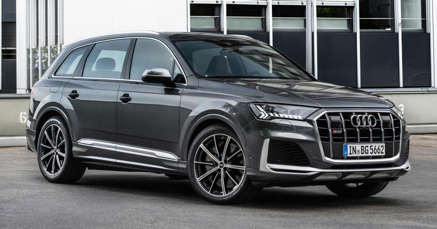 2021 Audi SQ7, SQ8 get 507 PS, 770 Nm V8 TFSI mill Image #1147608