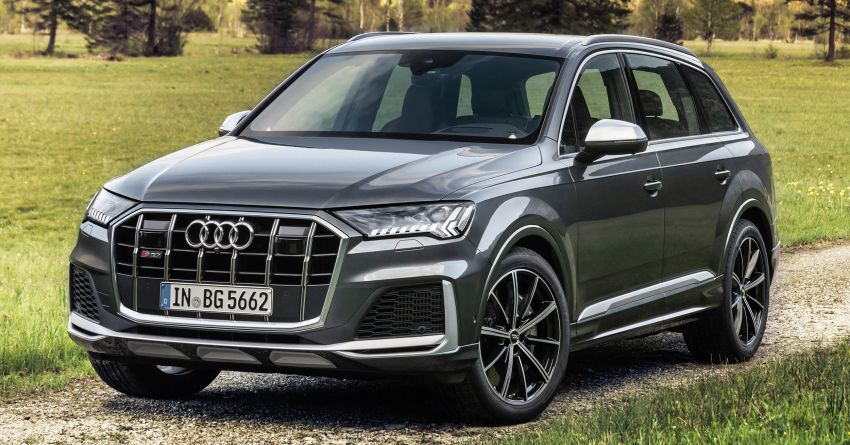 2021 Audi SQ7, SQ8 get 507 PS, 770 Nm V8 TFSI mill Image #1147576