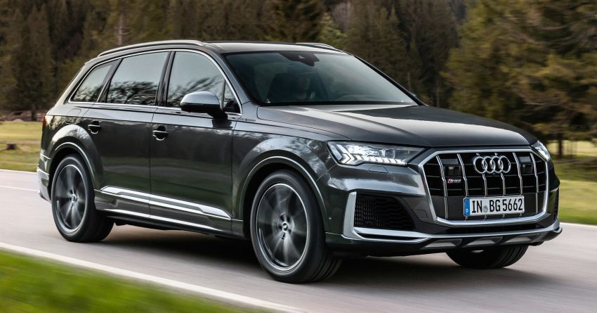 2021 Audi SQ7, SQ8 get 507 PS, 770 Nm V8 TFSI mill Image #1147580