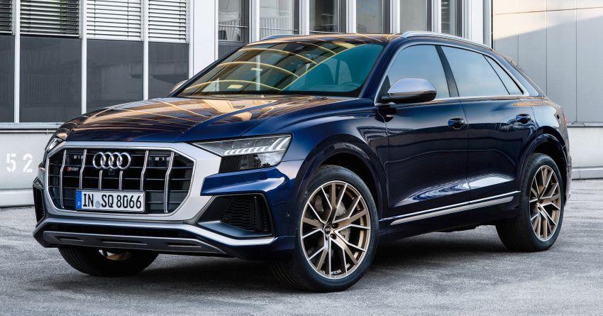 2021 Audi SQ7, SQ8 get 507 PS, 770 Nm V8 TFSI mill Image #1147618