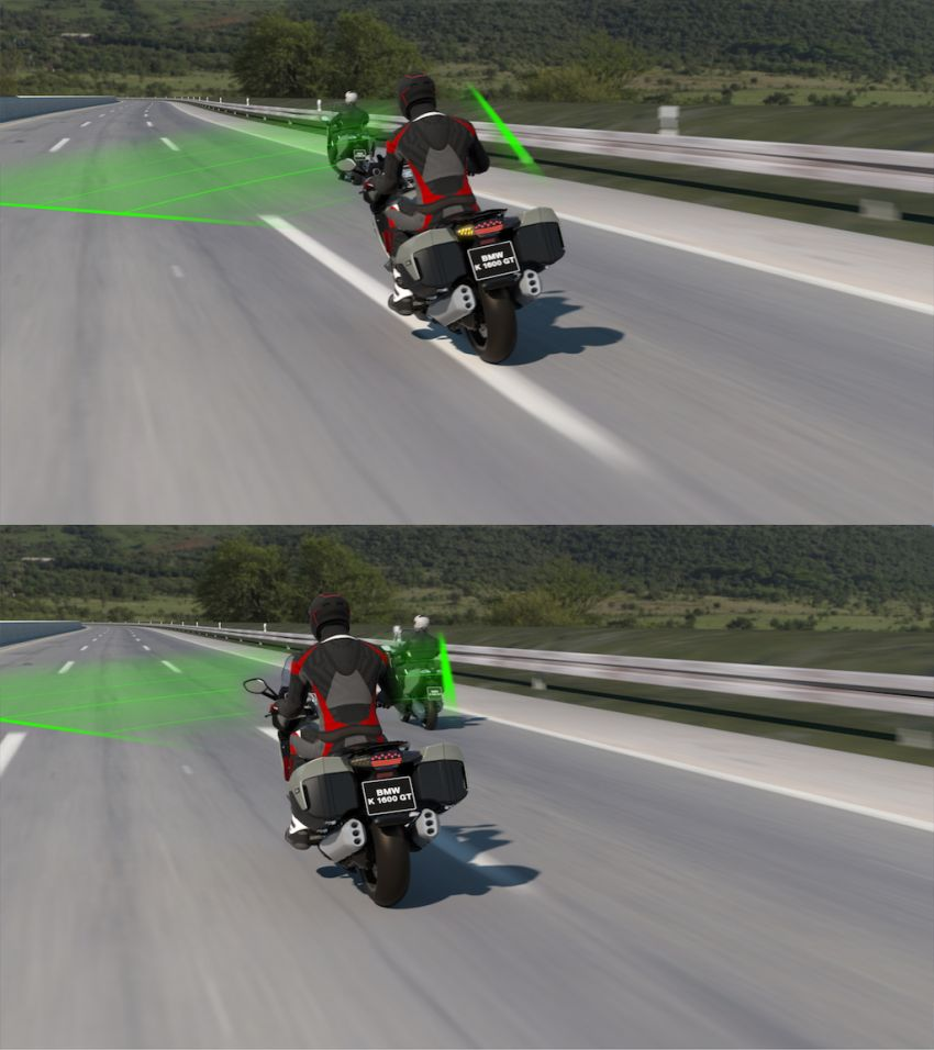 BMW Motorrad shows Active Cruise Control for bikes Image #1140114
